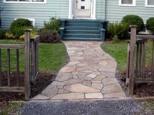 Flagstone Path After