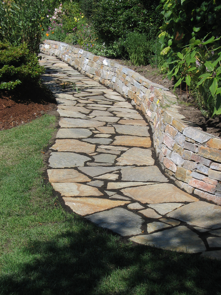 flagstone paths 10 olympia landscapers