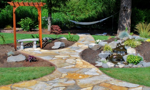 Landscaping design and installation oly wa for Landscaping rocks tacoma